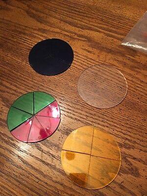 Overhead Fraction Circles Math (Overhead Fraction Circles)