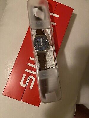 Swatch Irony Men's Chronograph Casual Blue Chrono YVS466