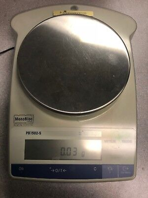 Mettler Toledo Monobloc Pb1502-s Precision Weighing Scale