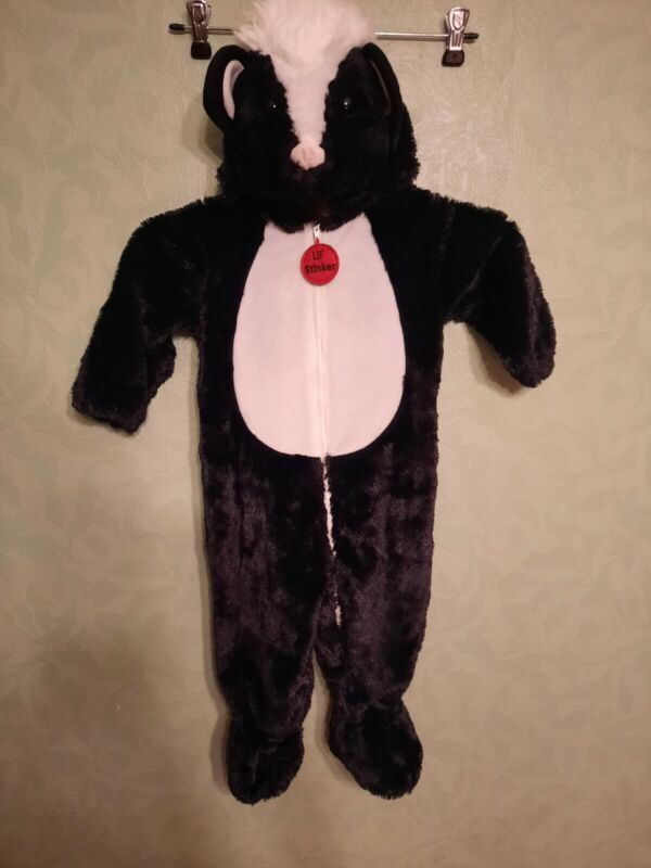 Spooky Night Baby Toddler Costume Skunk Lil