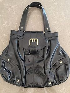 Dooney & Bourke black leather bag
