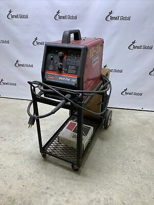 Lincoln Weld-pak 100 Mig Welder And Cart P-9