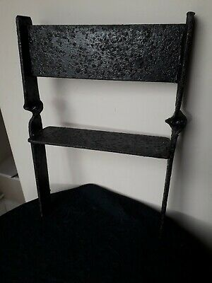Antique Cast Iron Victorian Boot Scraper