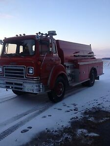 1978 international tanker truck