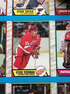 1989/90 O-Pee-Chee OPC Hockey Uncut Sheets Complete Set Stratford Kitchener Area image 8