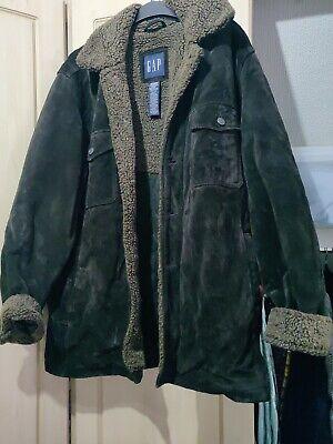 Gap Vintage Genuine Suede Jacket M