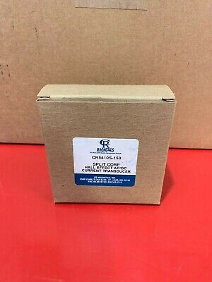 Cr Magnetics Cr5410s-150 Split Core Hall Effect Acdc Current Transducer - Nib