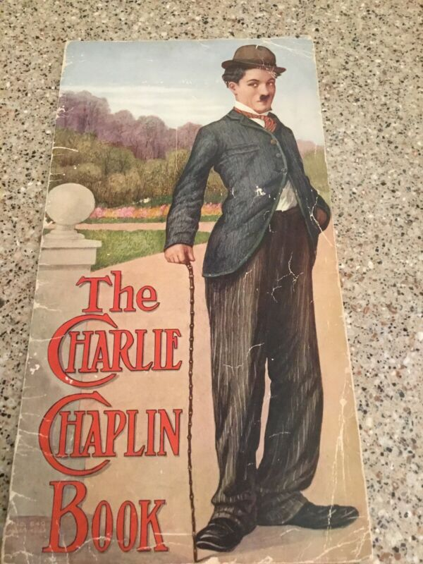 THE CHARLIE CHAPLIN BOOK - FIRST EDITION 1916