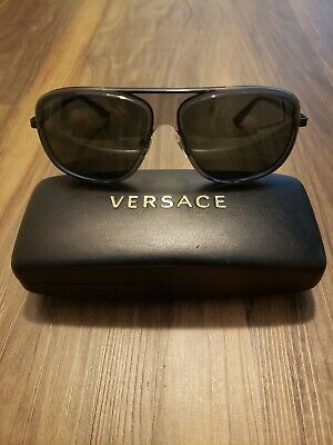 Versace Sunglasses Blue Frame excellent condition Mod 2133 1261/87  59/15/135