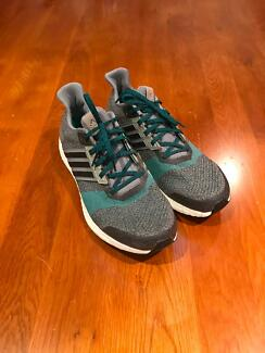 Adidas Ultra Boost ST US 11 UK 10.5 Grey Green