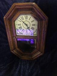 Vintage HOWARD MILLER CHIME WALL CLOCK RETIRED #612-475