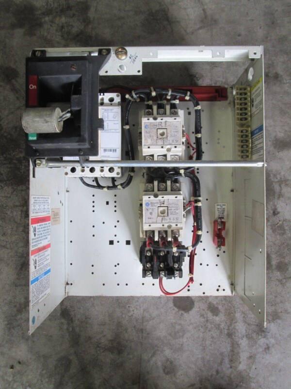 "Cutler Hammer Westinghouse 2100 15 Amp Size 2 MCC Bucket 18"" Reversing MCCB FDB"