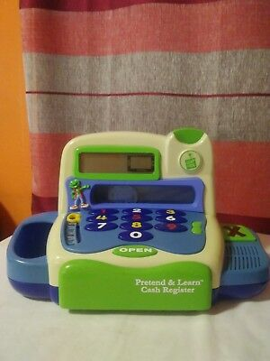 Leap Frog Pretend and Learn Cash Register Coins Price Tags Counting Learning Toy