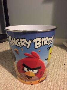Angry birds garbage can!