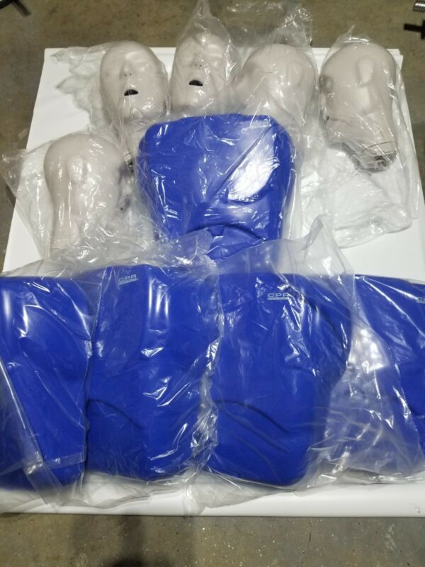 CPR Prompt Training Manikin Set  5 Adult With Duffel Bag And Accessories