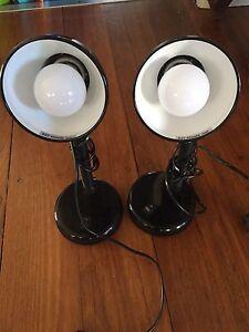 Verve bendable desk lamps x 2 Adamstown Newcastle Area Preview