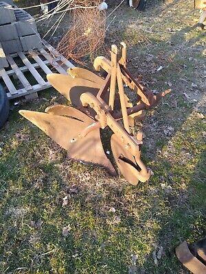 Massey Harris Mount Plow 2 Bottom Three Point Moldboard John Deere Minnie Oliver