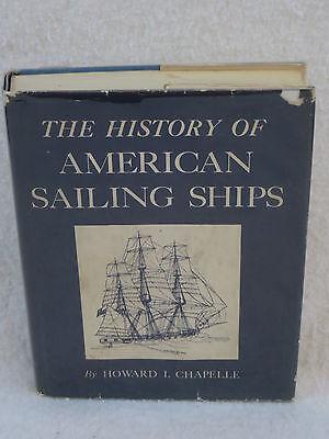 Howard Chapelle History Of American Sailing Ships Bonanza Books