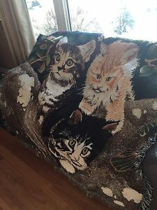 Cat Throw/Blanket