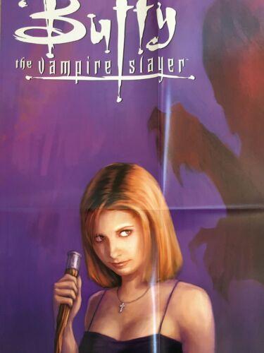 2002 BUFFY THE VAMPIRE SLAYER Promo Poster Dark Horse * Sarah Michelle Gellar *