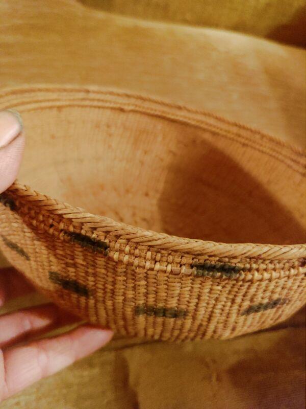 Yanomami Basket Yanomamo Amazonian Twined With Charcos