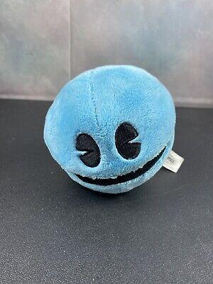 "Ms Pac Man Blue Plush Stuffed Toy Bandni Namco Pacman Battle Royale Arcade 7"""