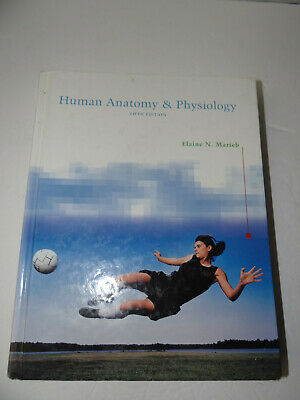 Human Anatomy & Physiology Hardcover Book Fifth Edition Elaine N. (Human Anatomy And Physiology Marieb 5th Edition)