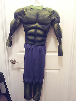 Incredible Hulk Suit (The Incredible Hulk Padded Jumpsuit ONLY Costume Size Medium(8) Marvel)