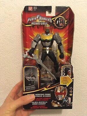 Power Rangers Megaforce Bandai Battle Morphin Robo Knight Figure With Sword Box