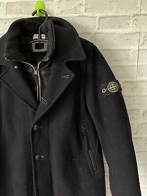 Stone Island Junior Jacket Wool Coat Size 10/140