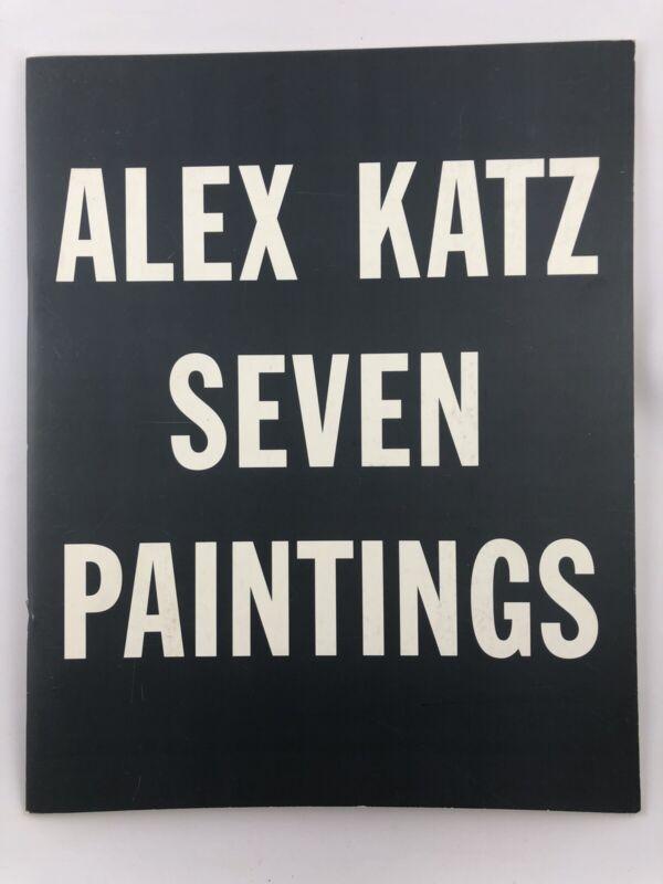 Exhibition Catalog - Alex Katz Seven Paintings / 1997 / Fine