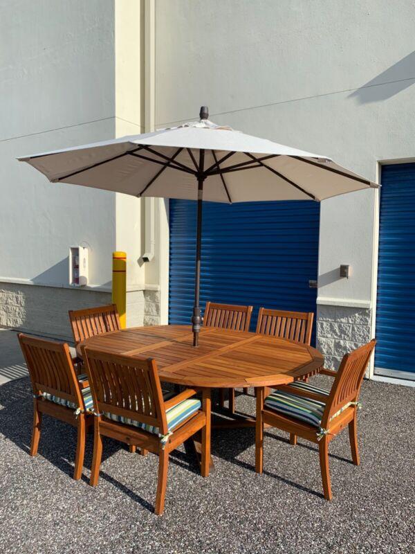 Gloster Teak Patio Furniture Set