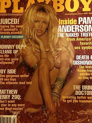 Playboy Magazine May 2004 Pam Anderson