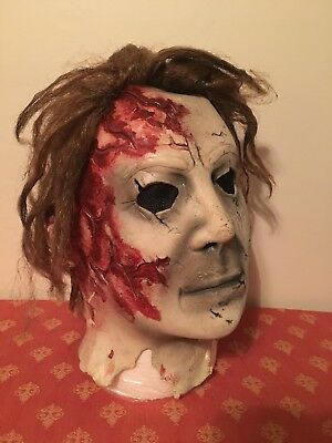 2010 DON POST ROB ZOMBIE Bloody MICHAEL MYERS HALLOWEEN - Halloween Michael Myers Rob Zombie