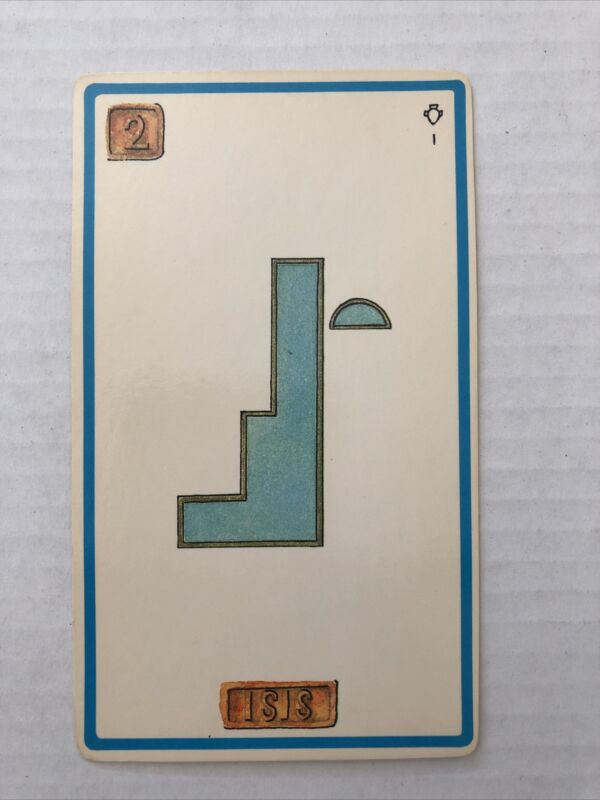 Cartouche Isis Card 2 Single Card Only No Box