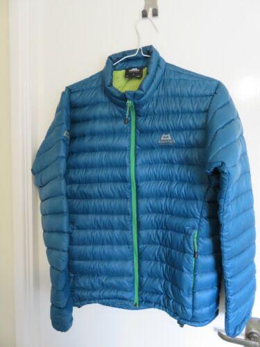 Mountain Equipment Arete Down Jacket Large Blue Mens