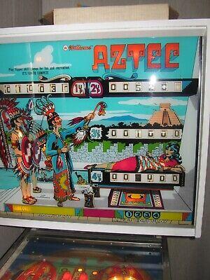 1976 Aztec Pinball Machine by Williams