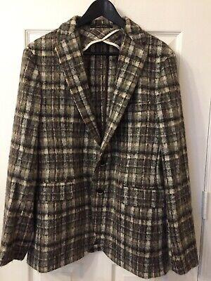 NWOT Tagliatore men wool single breasted Italian Jacket in Size 50/R