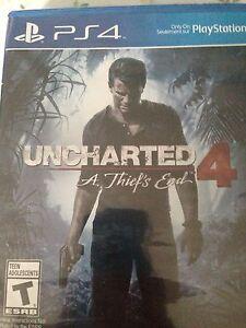 Uncharted 4   Unopened.