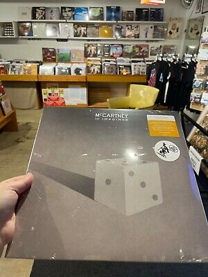 Paul McCartney - III Imagined Indie Exclusive Gold Vinyl Sealed