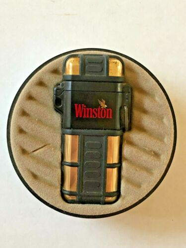 Rare Winston Quantum By Colibri Refillable Flameless Butane Lighter