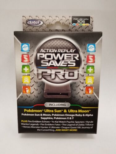 Datel Action Replay Power Saves Pro for 3DS & 2DS