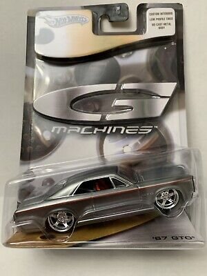 Hot Wheels G Machines '67 GTO - Silver - 1:50 scale