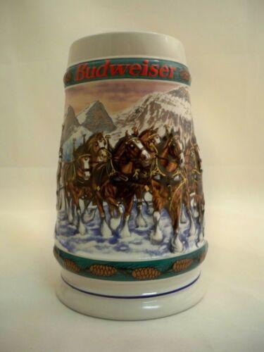 "ANHEUSER-BUSCH 1993 BUDWEISER ""SPECIAL DELIVERY"" CLYDESDALES MUG STEIN TANKARD"