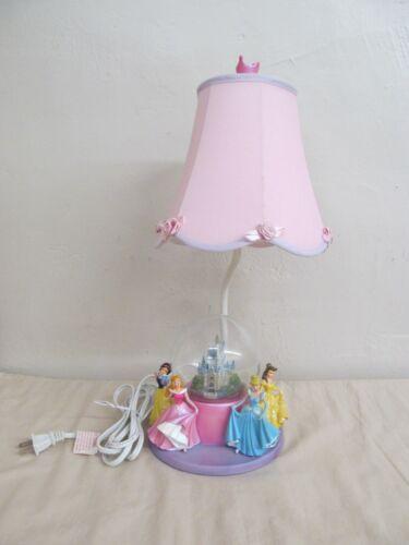 Pre-Owned Disney Princesses Enchanted Castle Globe Table Lamp Night Light