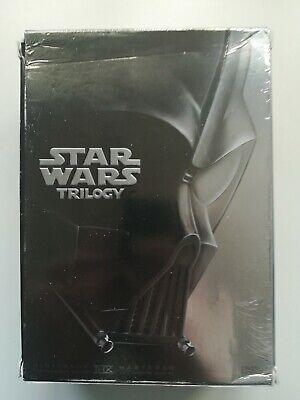 Star Wars Original Trilogy (DVD, 2004, 4-Disc Set, Widescreen)