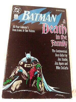 BATMAN #429 NEAR MINT 1988 DC COMICS A DEATH IN THE FAMILY