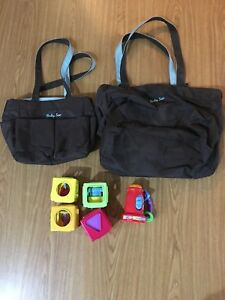 Diaper bag set and toys