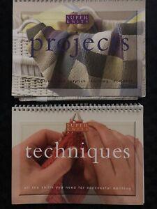 2 x Knitting books