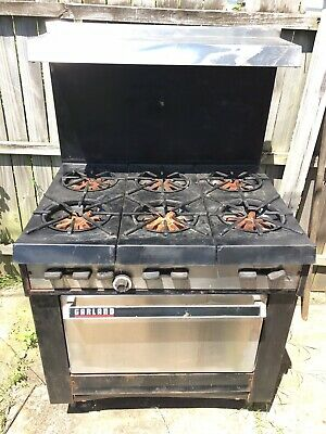 Garland Commercial 6 Burner Gas Range